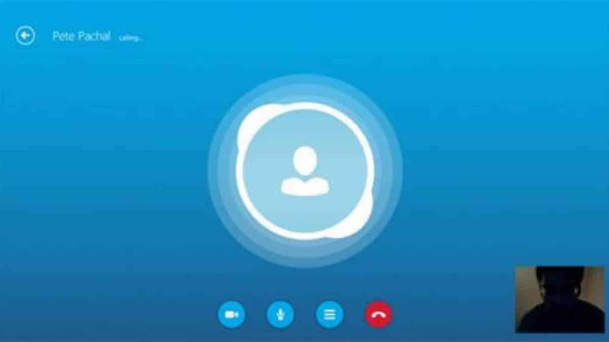 анимация звонок по скайпу создал