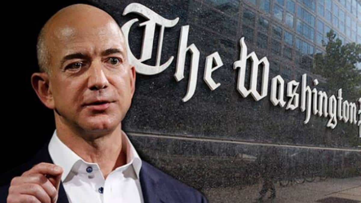 Jeff Bezos e Washington Post