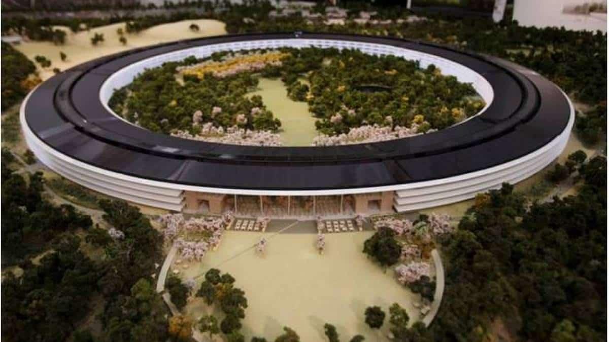 Apple revela primeira maquete de nova sede de US$ 5 bilhões