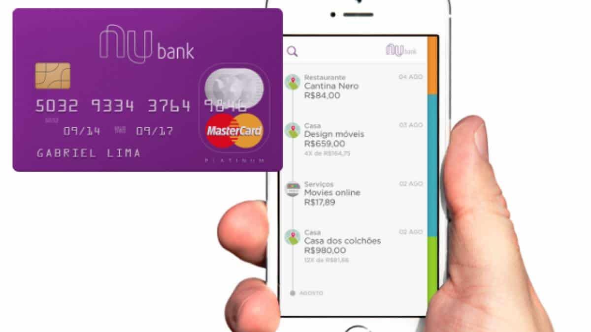 Fazer cartão de crédito nubank