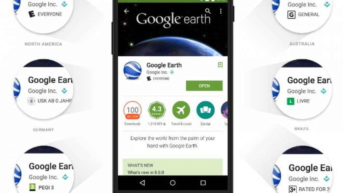 Google Play ganha sistema de classificação etária para seus apps