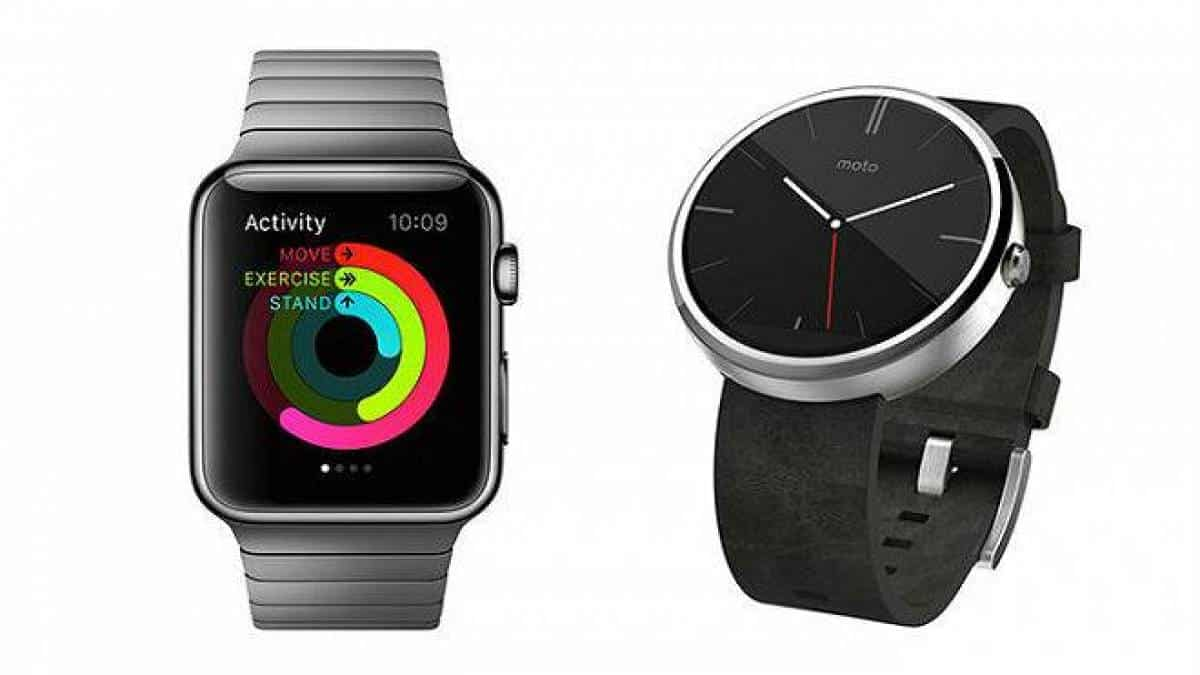 Android Wear x Apple Watch