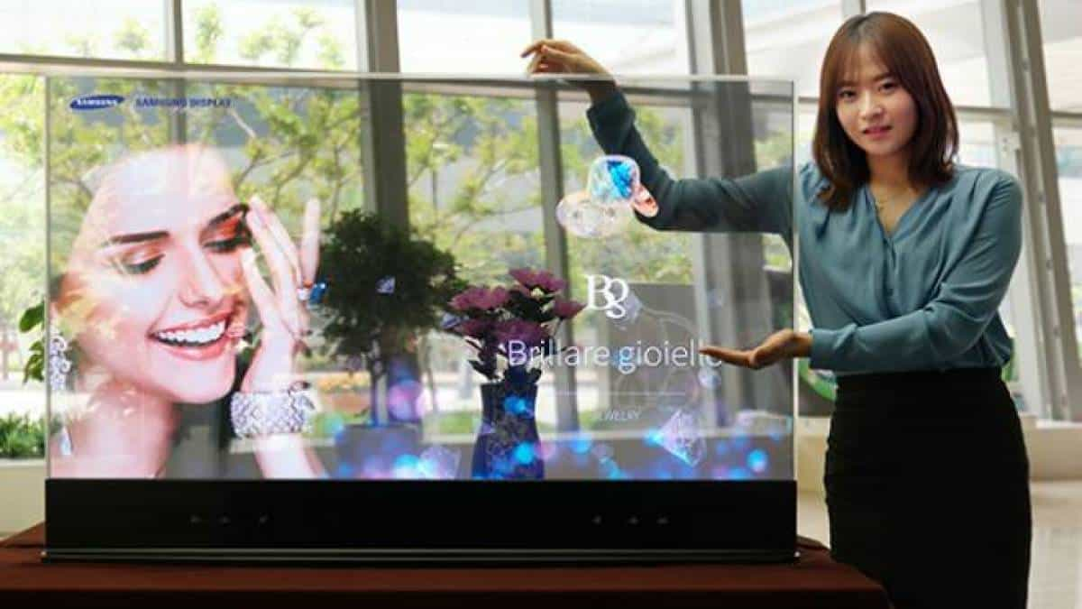 Samsung display transparente