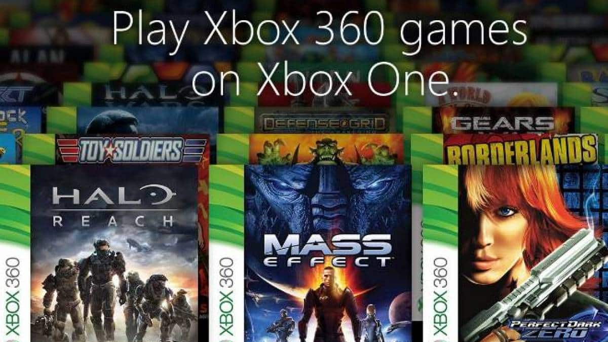 xbox one retrocompatibilidade