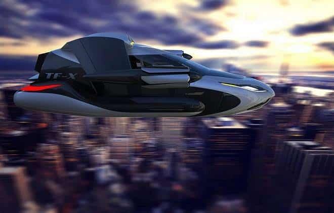 Empresa mostra carro voador híbrido que deve chegar em 2021