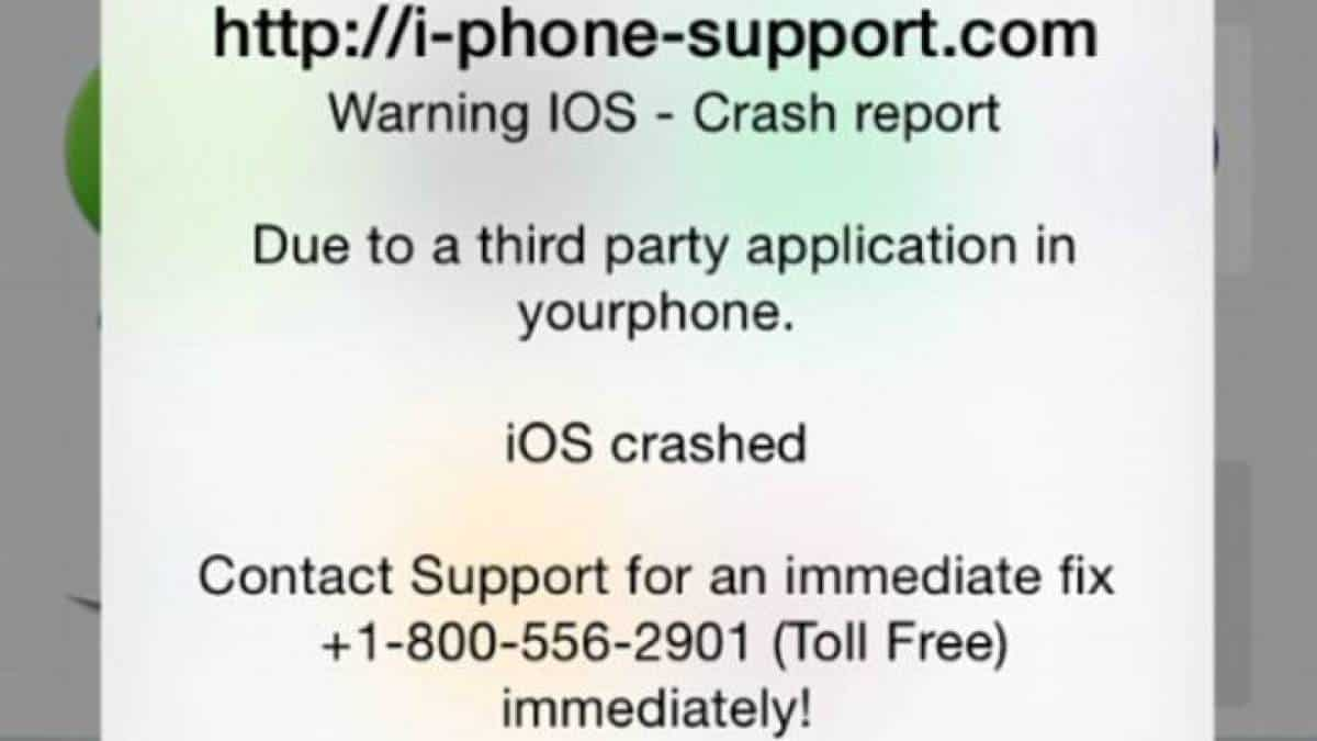 Ransomware no iPhone