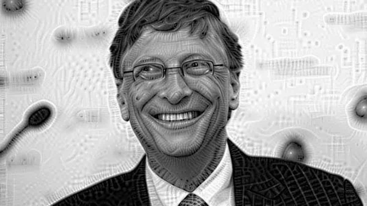 Bill Gates estilo Deep dream