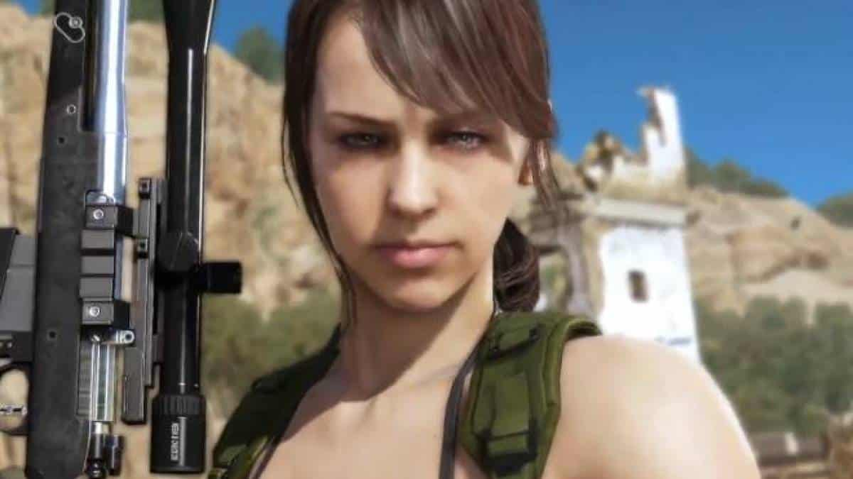 quiet metal gear solid