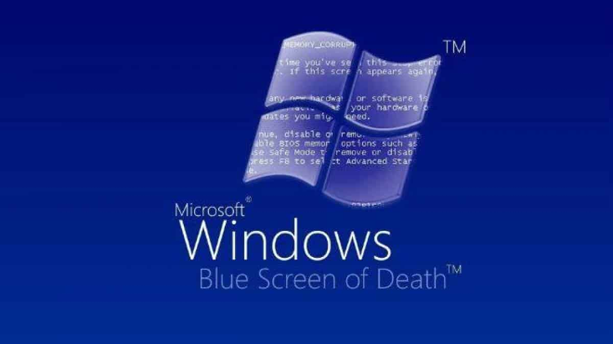 Windows tela azul