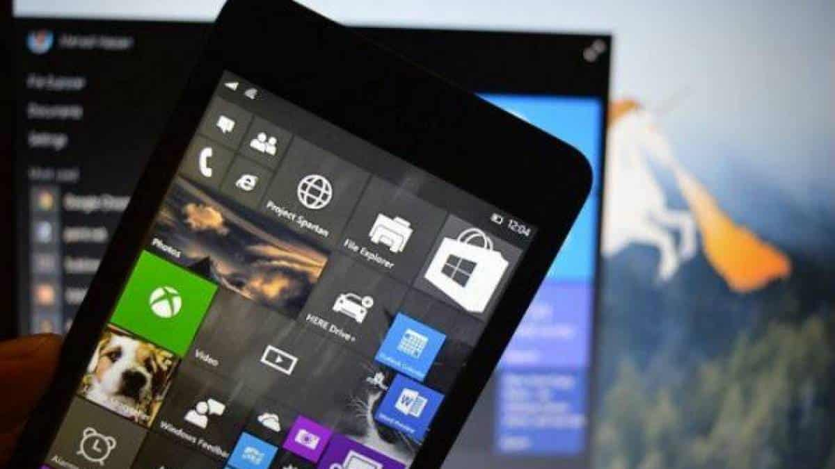 Lumia Windows 10 Mobile