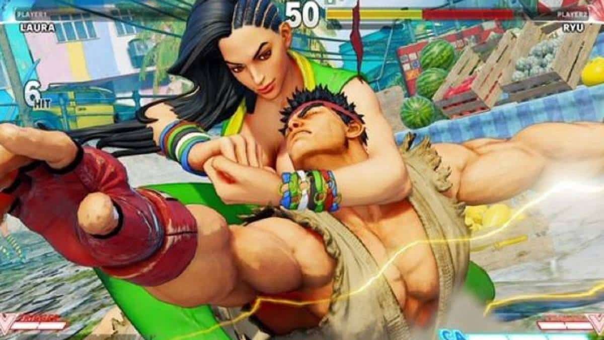 Laura, Street Fighter