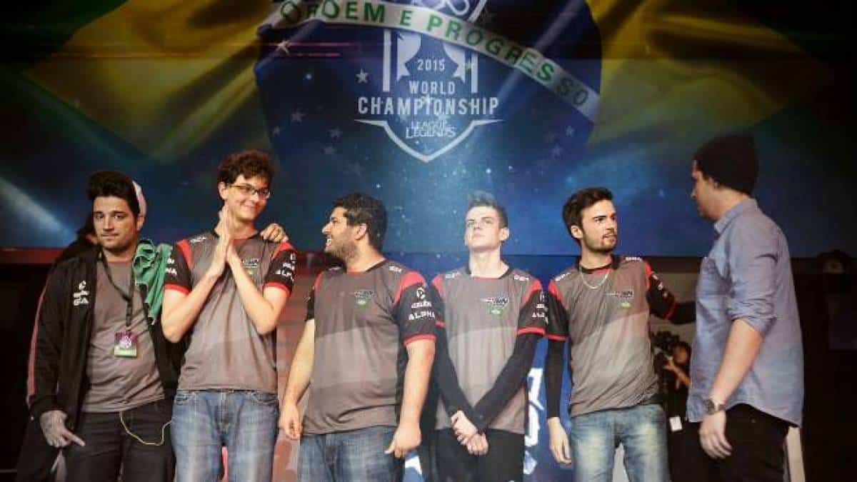 paiN Gaming League of Legends Brasil