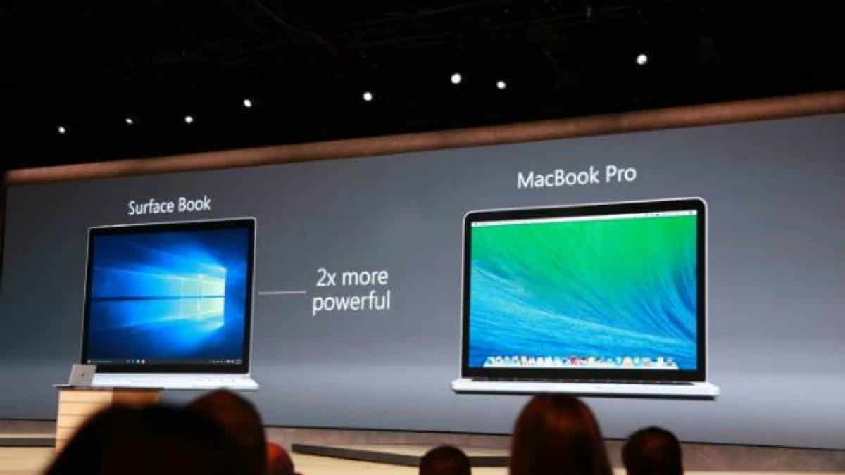 surface book macbook