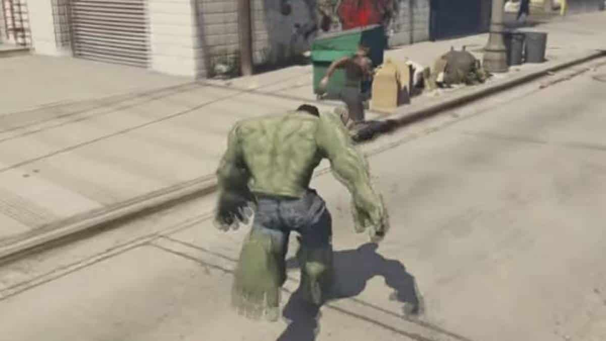 Hulk no GTA