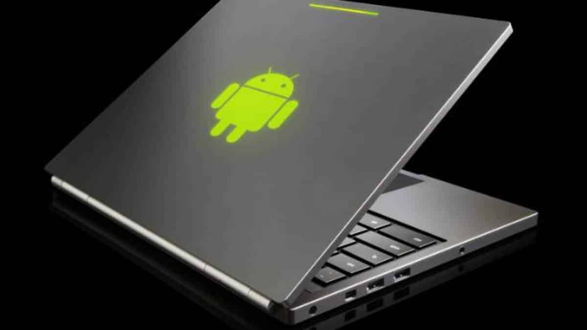 android laptop
