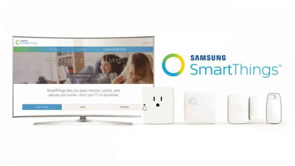 TVs Samsung SmartThings