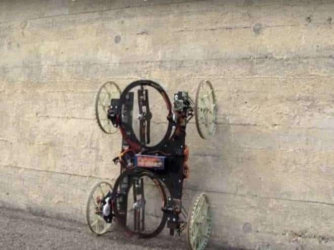 Disney desenvolveu robô-carro capaz de andar nas paredes; confira