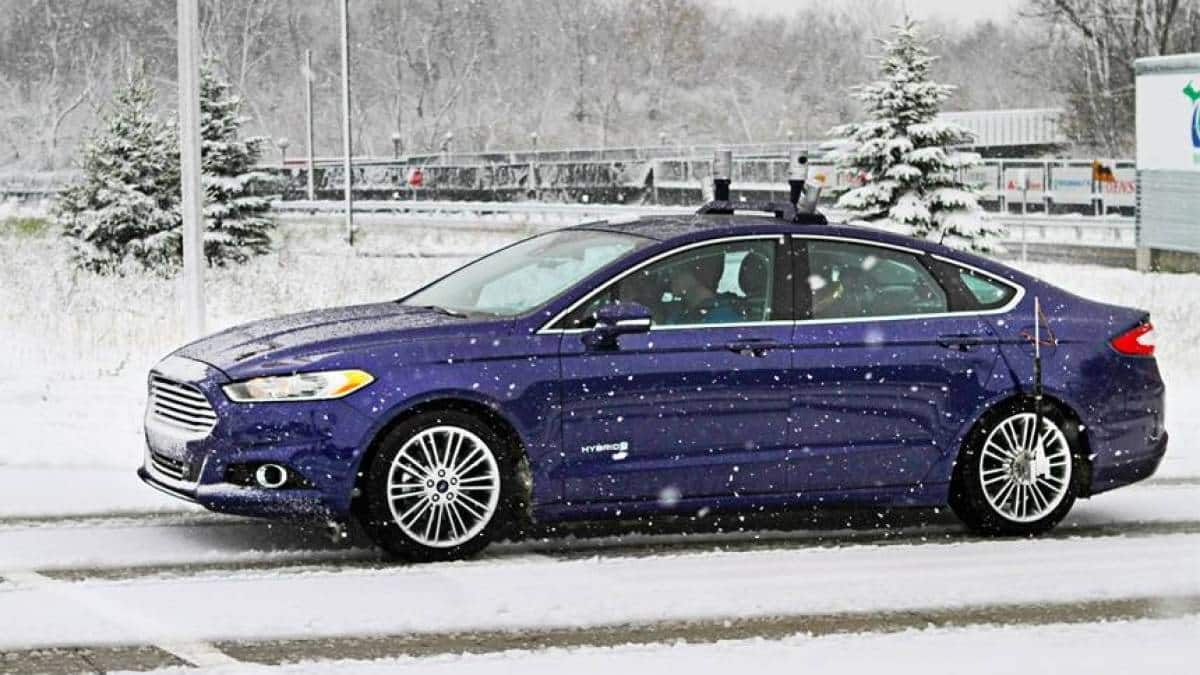 Ford Focus na neve