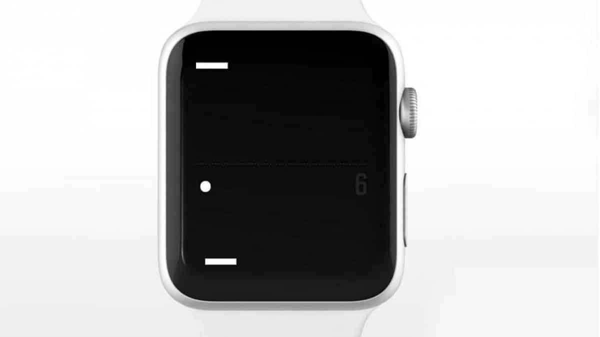 Tiny Pong - Apple Watch