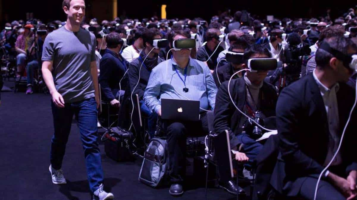 Mark Zuckerberg, Facebook, realidade virtual