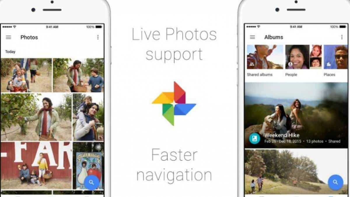 Google Photos Live Photos iOS