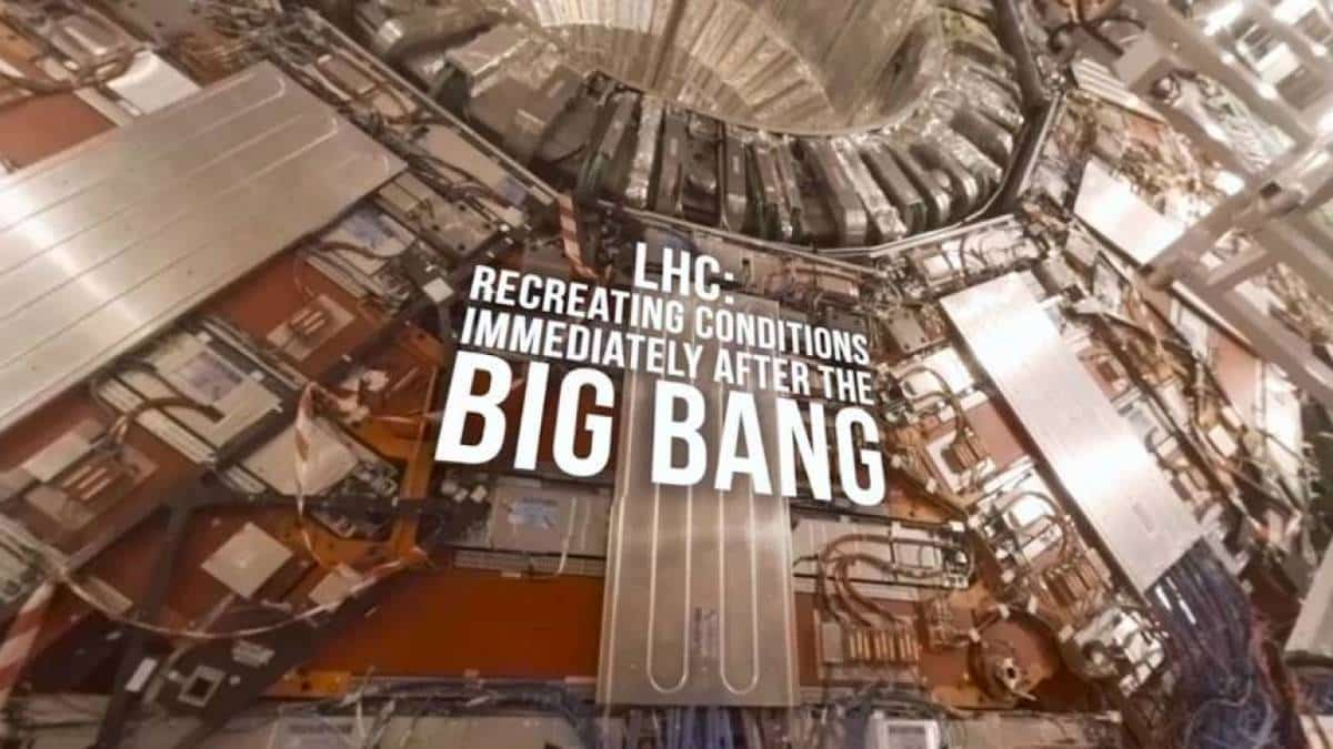 Vídeo BBC interior do CERN