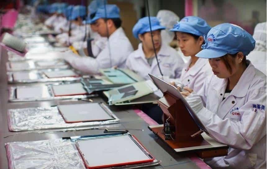 Foxconn, maior montadora da Apple, corta 50 mil empregos na China