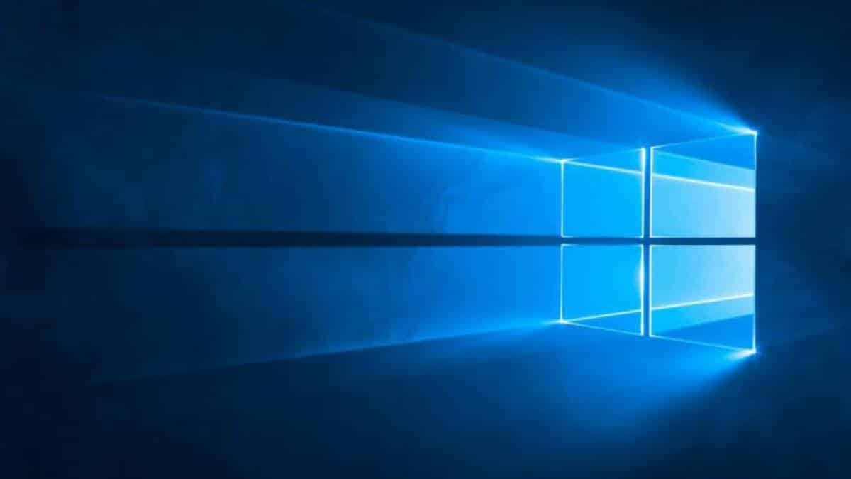 Luz azul Windows 10