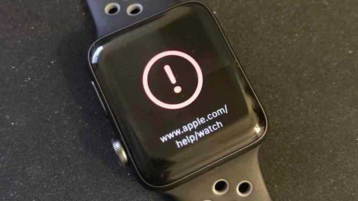 Apple Watch inutilizado