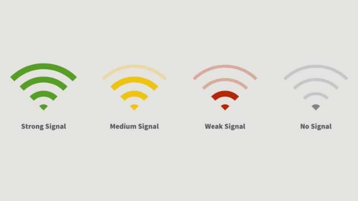 sinal de wifi
