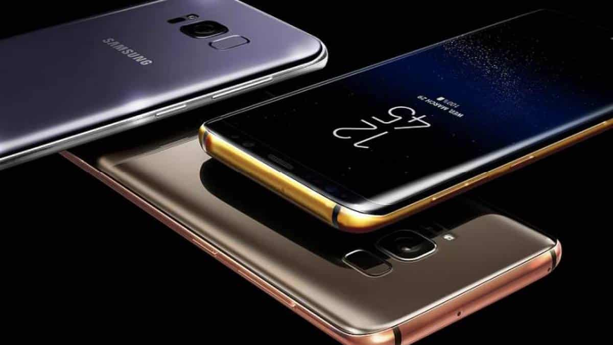 Samsung Galaxy S8 ouro