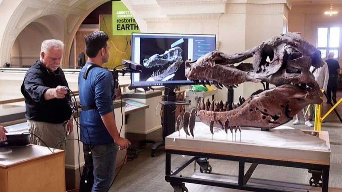 T-Rex Kinect