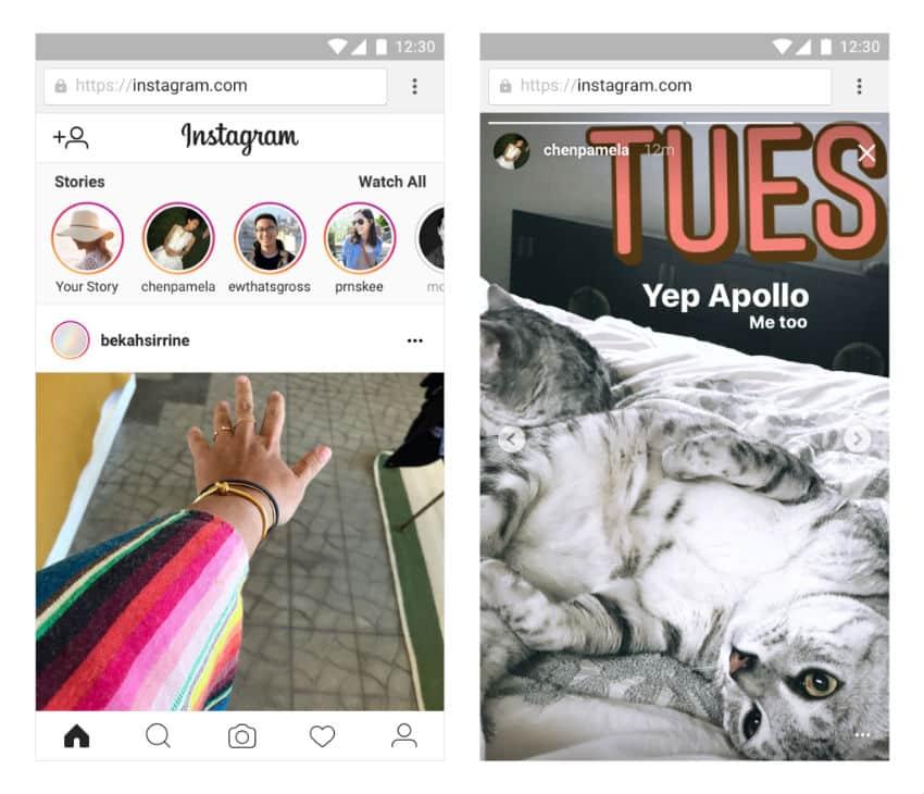Instagram Stories agora pode ser acessado via web