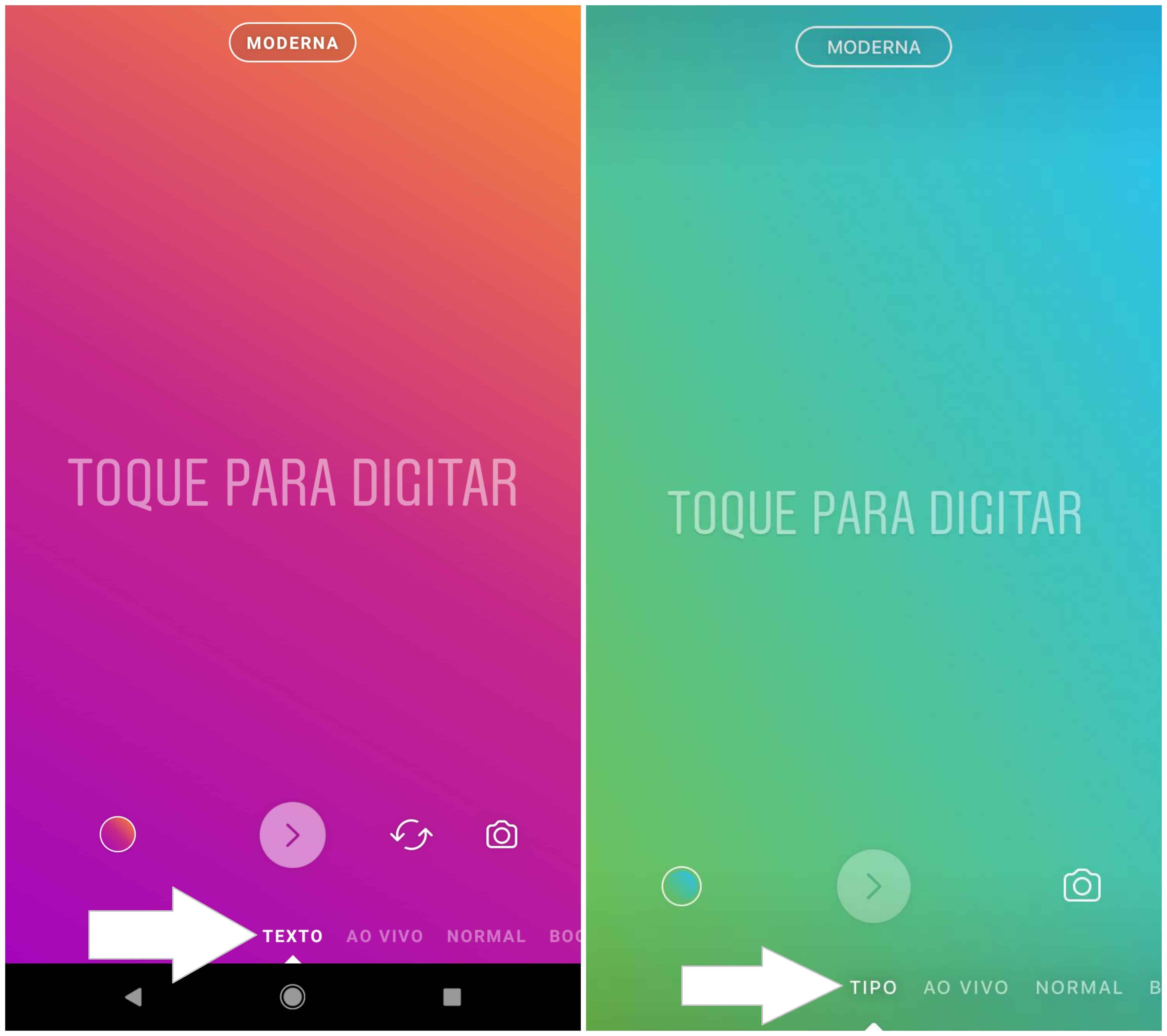 Instagram Agora Permite Postar Textos Sem Foto No Stories