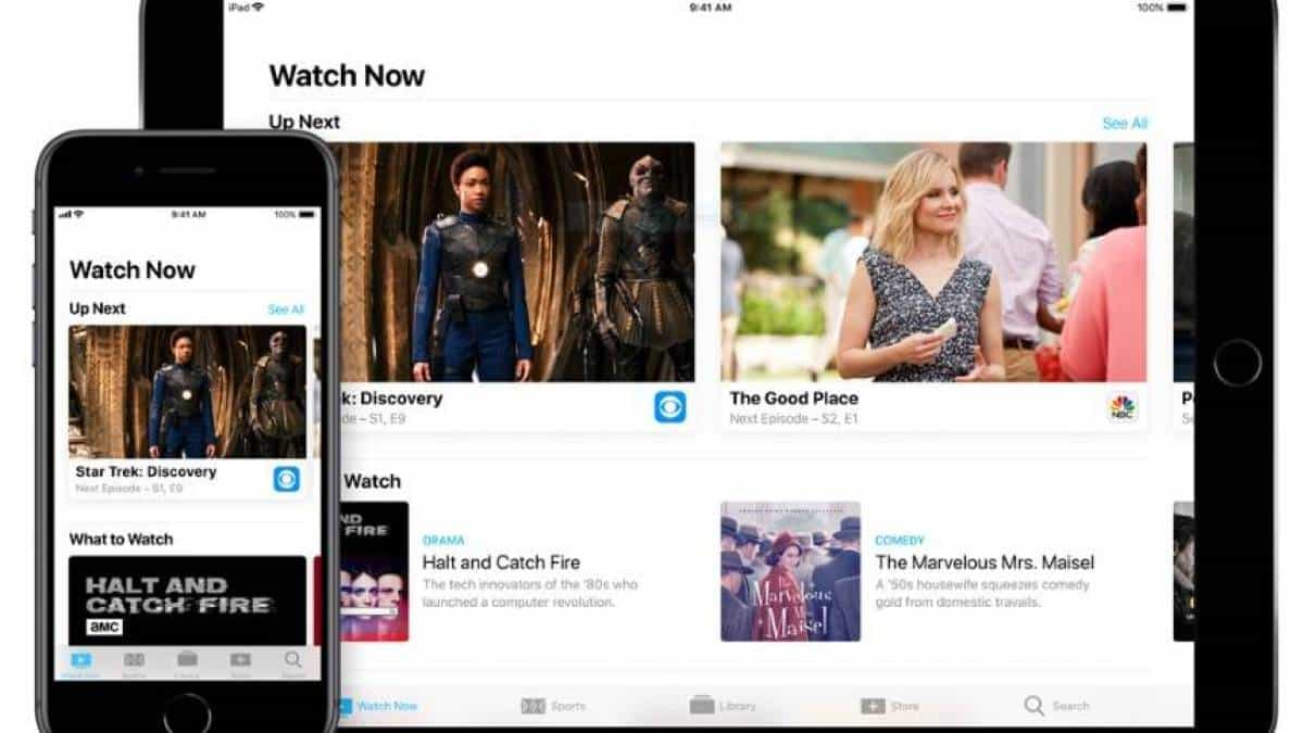 App TV da Apple