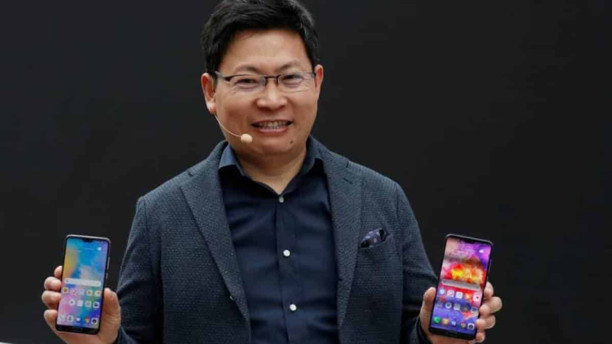 Richard Yu Huawei China Smartphones