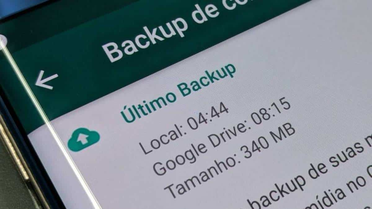 WhatsApp backup Google Drive Android