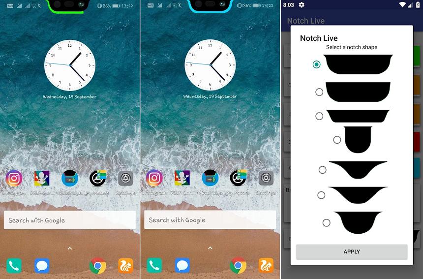 App Permite Aproveitar O Entalhe Estilo Iphone X Na Tela