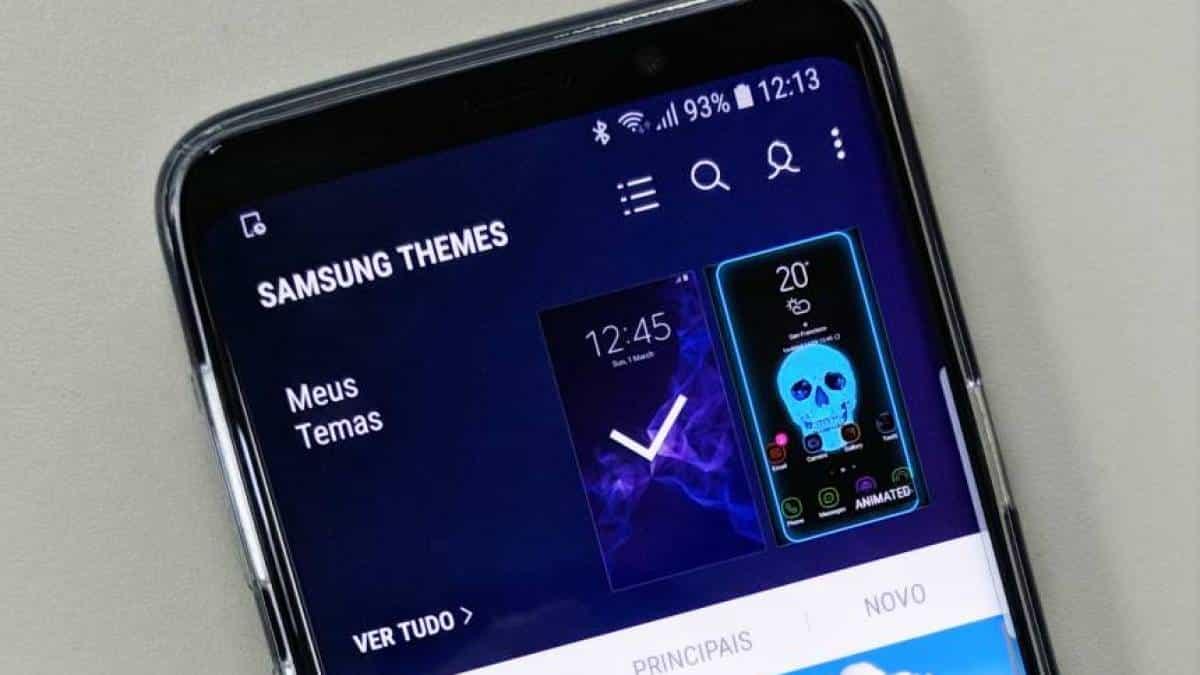 Samsung vai limitar uso de temas gratuitos em smartphones
