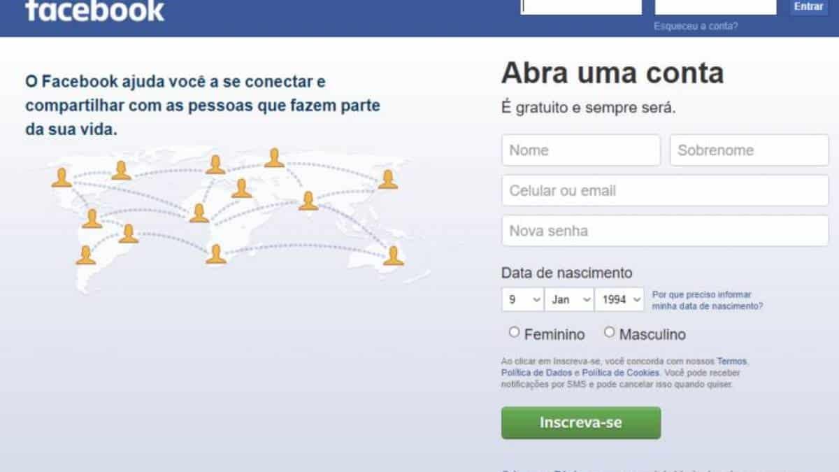 Não consegue entrar no Facebook? Saiba como resolver
