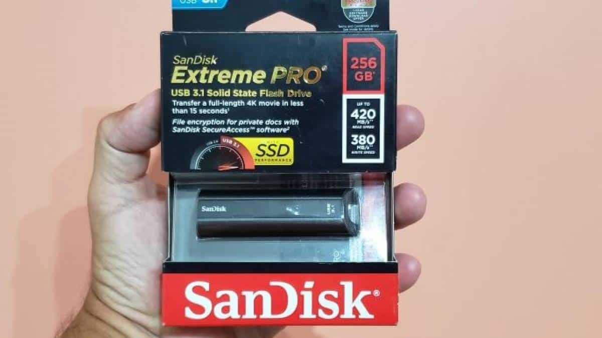 Pendrive Sandisk Extreme Pro