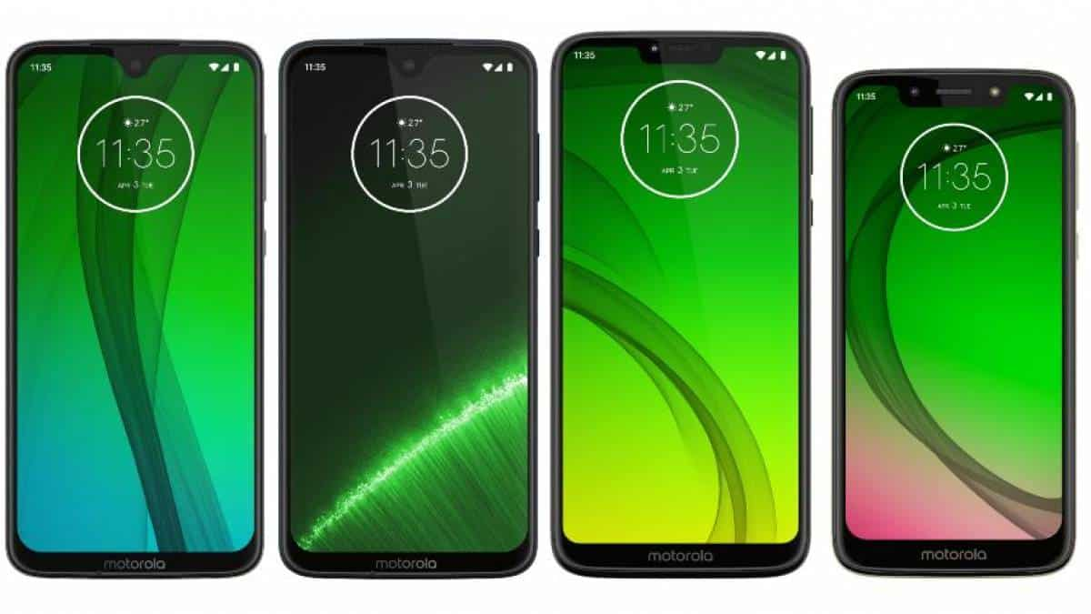 Moto G7, G7 Plus, G7 Power, G7 Play