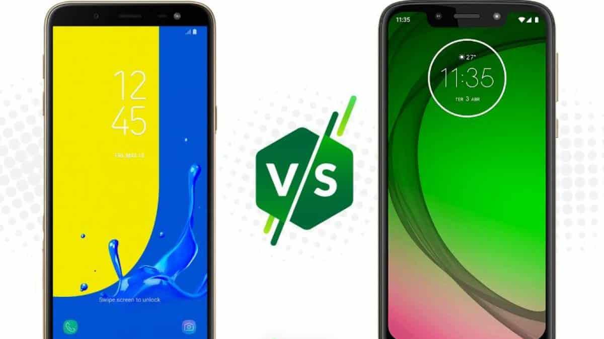 Galaxy J6 ou Moto G7 Play: saiba qual é o melhor celular