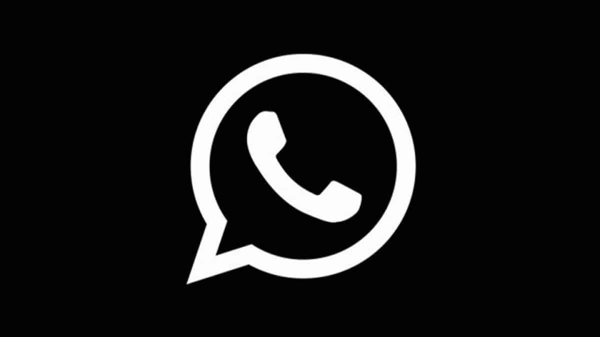 WhatsApp black mode