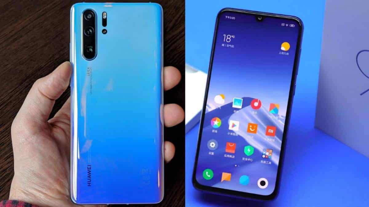Huawei P30 Pro vs Xiaomi Mi 9: qual é o melhor celular