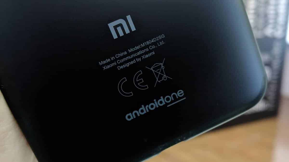 Android One Xiaomi Mi A2