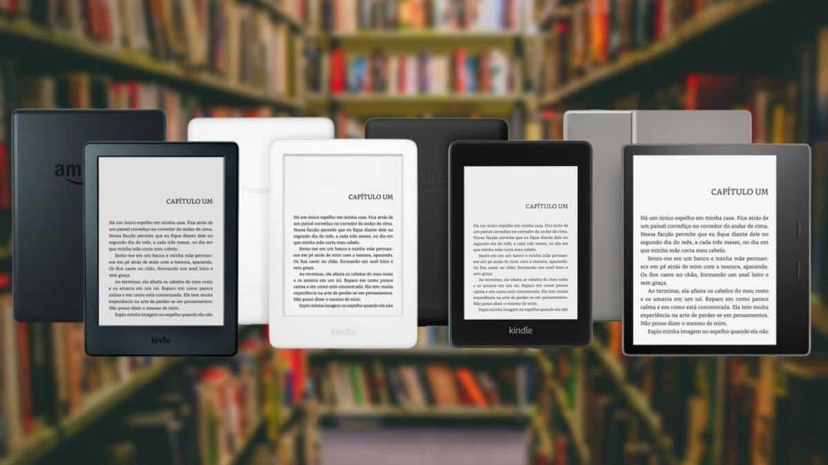 Qual Kindle comprar? Veja as diferenças e descubra qual é o