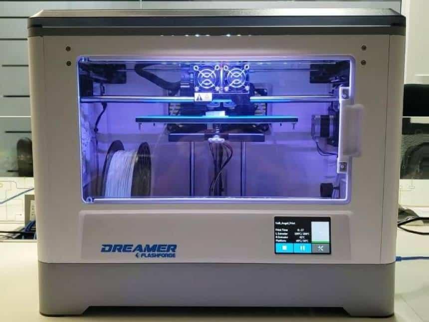 20190406080535_860_645_-_impressora_3d_flashforge_dreamer Válvula impressa em 3D salva vida de pacientes na Itália