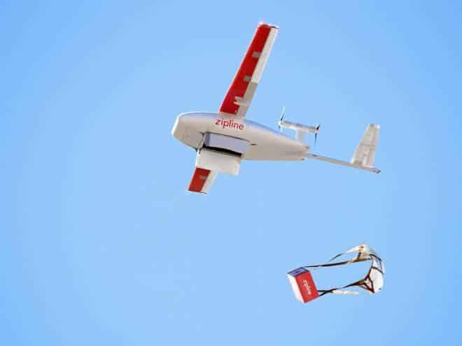 Marinha dos EUA testa drone para entrega de remédios