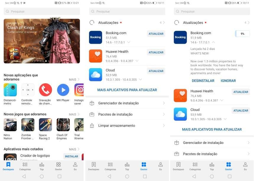 Sem Google Play: saiba o que tem na Huawei App Gallery e na